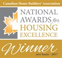 CHBA National Awards - New Home -2017-winner