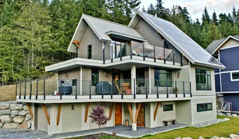 Net zero home construction energy saving home whistler b c for Net zero home
