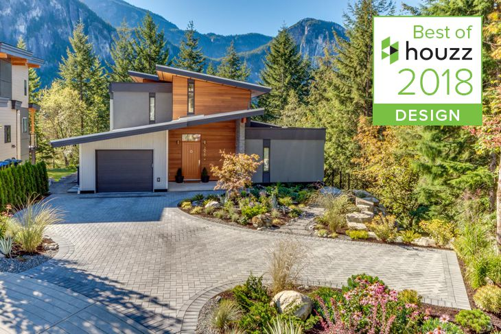 Best of Houzz Design 2018 Crumpit Woods Squamish