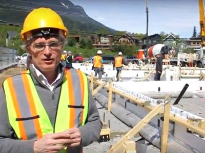 Bob Discusses the Helix Steel Additive that RDC is using in our Valkyries Town homes. Watch to find out why it is better than conventional concrete.