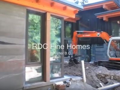 Part 2 of series by NEXT Design for your Modern Home. RDC Fine Homes shows us how a rammed earth sustainable house is built