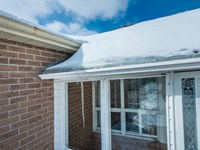 Preventing Ice Damage with Ice Damming