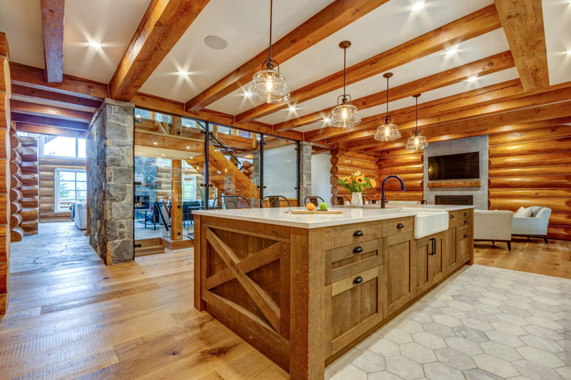RDC Mountain Retreat Kitchen