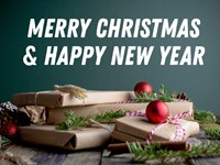 Merry Christmas & Happy New Year from RDC Fine Homes