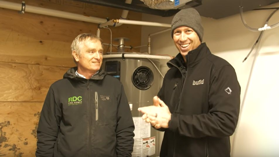 Bob chats with construction YouTube star Matt Risinger about the brand new energy efficient HVAC system installed at our latest Sustainable Green Home.