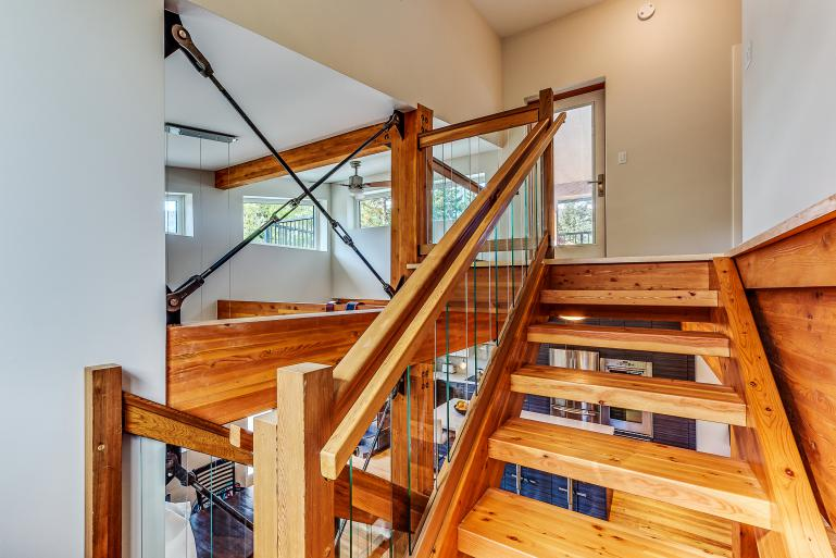 Home Construction Interior Stairs