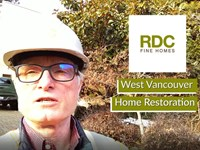 West Vancouver Luxury Home Restoration