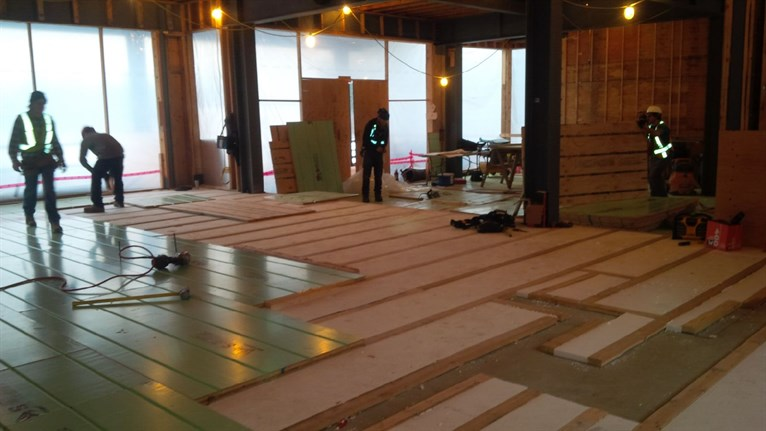 Green lake whistler home project update what is taking for Warmboard cost