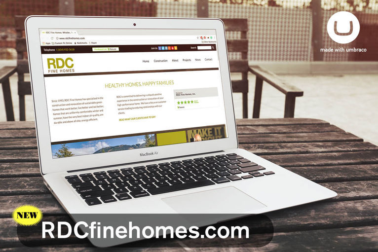 Whistler Website Design RDC Fine Homes