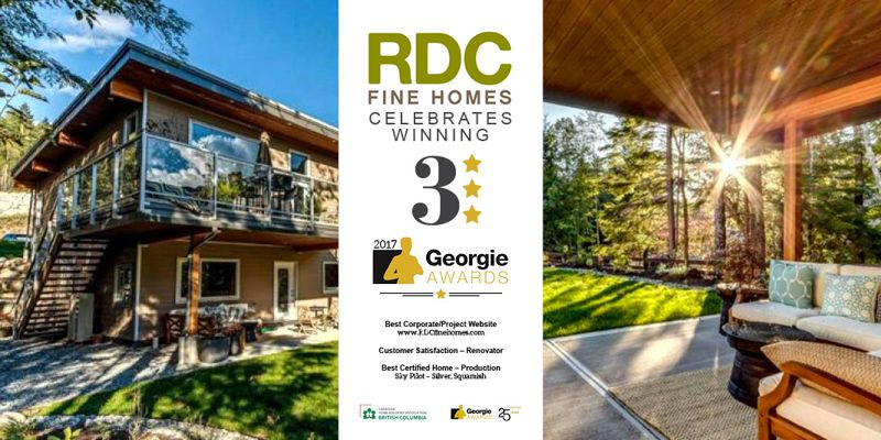 2017 Georgie Awards RDC Fine Homes