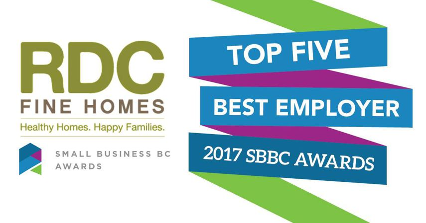 Small Business Awards Top 5 Best Employer
